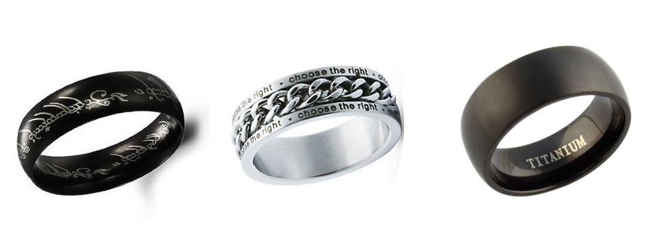 anelli titanio